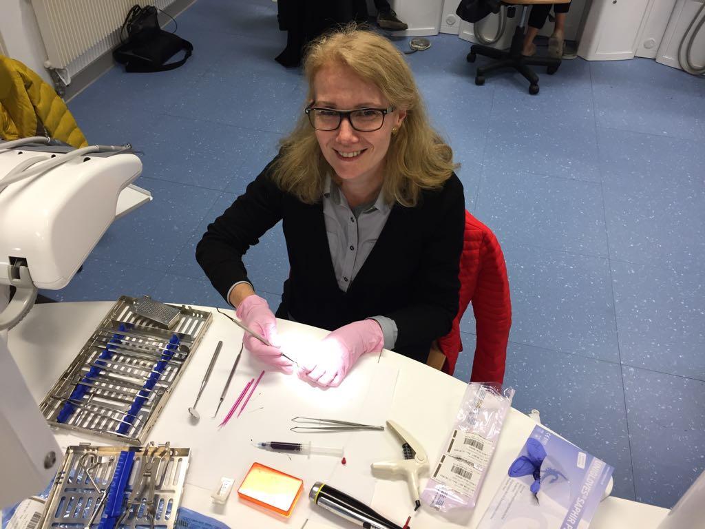 Nouvelle formation pour le Docteur Stéphanie Roudaut